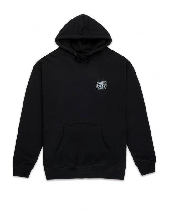 10 Deep Ricochet Pullover Hoody - Black