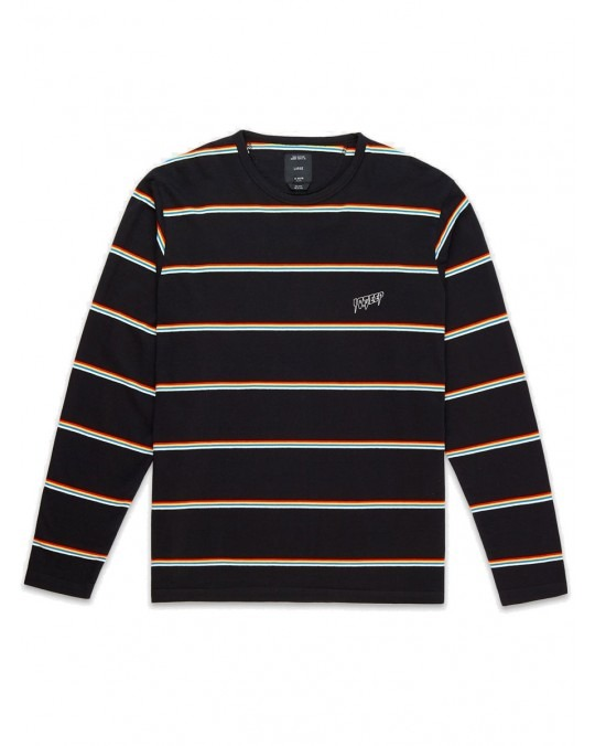 10 Deep Sound & Fury L/S T-Shirt - Stripe Multi