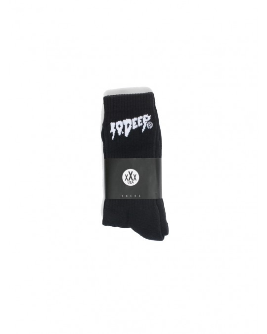 10 Deep Sound & Fury Socks - Black