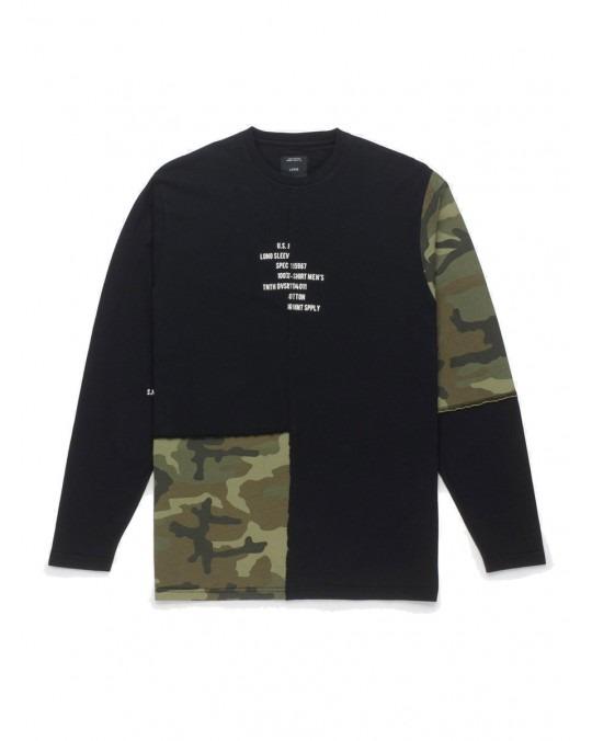 10 Deep Surplus Camo L/S T-Shirt - Multi