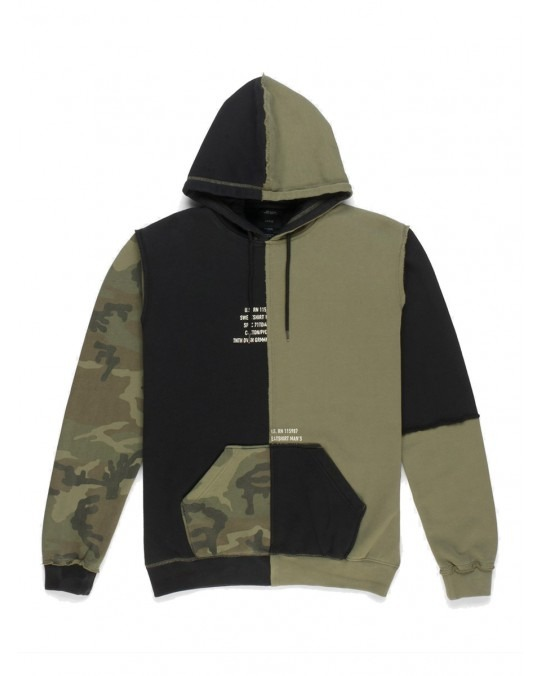 10 Deep Surplus Pullover Hoody - Army Camo