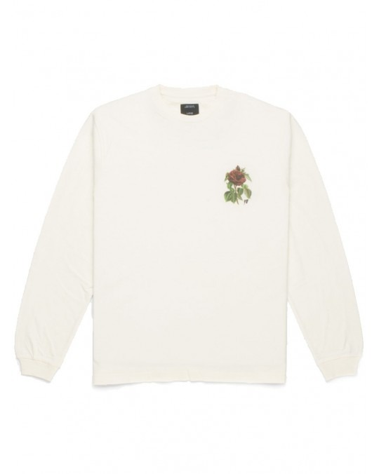 10 Deep Thinking Of You L/S T-Shirt - Off White