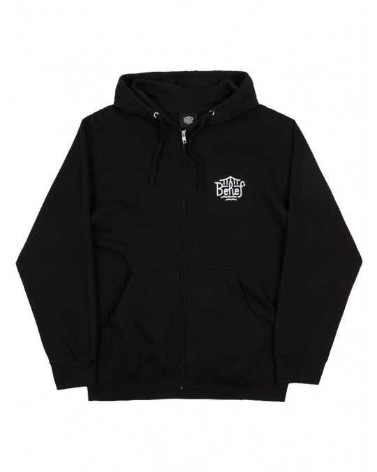 Belief 1812© Zip Up Hoody - Black