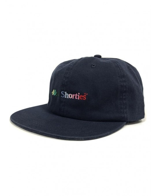 40's & Shorties Multi Colour Logo Cap - Navy
