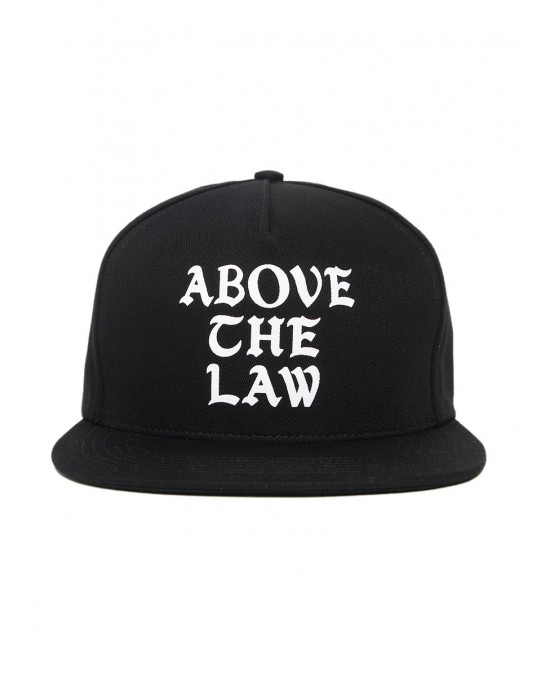 Acapulco Gold Above the Law 5 Panel Snapback - Black