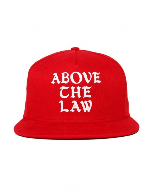 Acapulco Gold Above the Law 5 Panel Snapback - Red