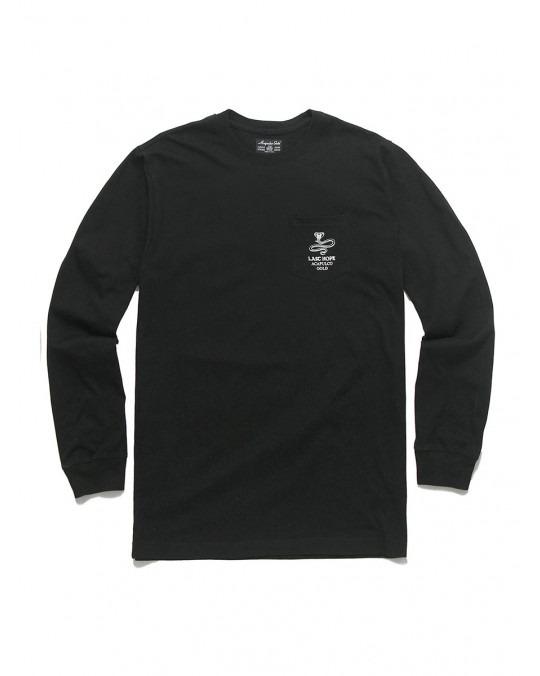 Acapulco Gold Last Hope Pocket L/S T-Shirt - Black