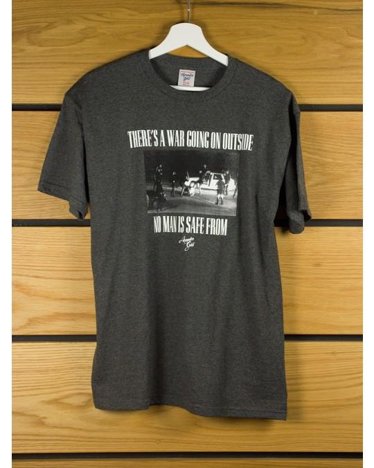 Acapulco Gold War T-Shirt - Charcoal Grey