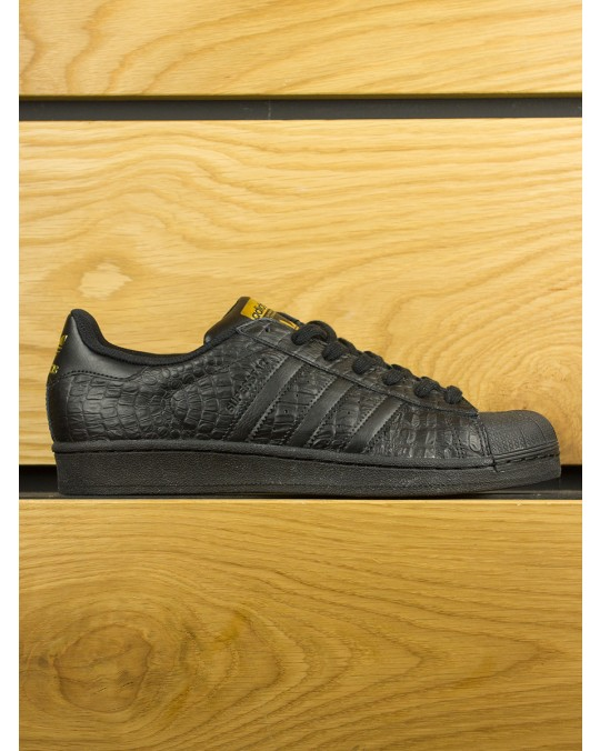 Adidas Superstar Croc - Black Black Gold