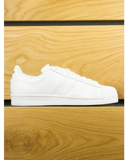 Adidas Superstar Croc - White Gold