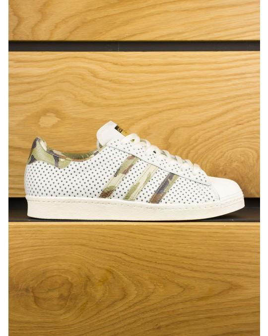 Adidas Superstar 80s 'Quickstrike x Complex' White Camo