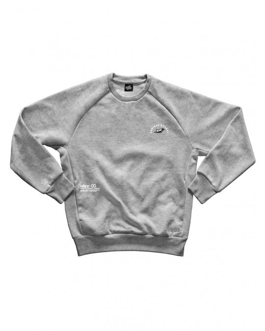 Ageless Galaxy L750 POD 007 Crewneck Sweatshirt - Heather Grey