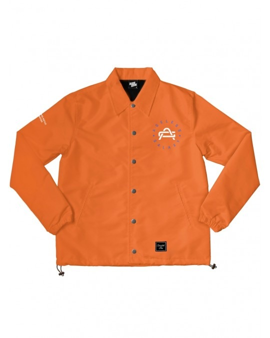 Ageless Galaxy Whatever It Takes POD 008 Coach Jacket - Orange