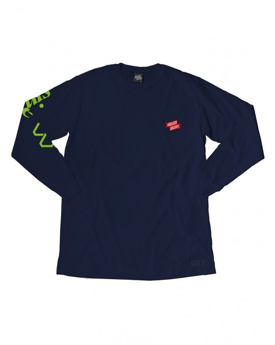 Ageless Galaxy Whatever It Takes POD 007 L/S T-Shirt - Navy