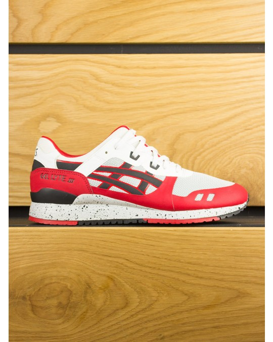 Asics Gel-Lyte III NS - White Black Red