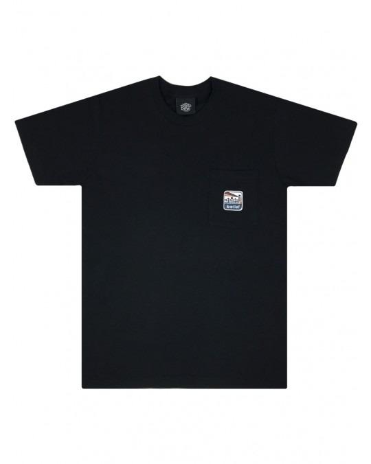 Belief Atlantic Pocket T-Shirt - Black