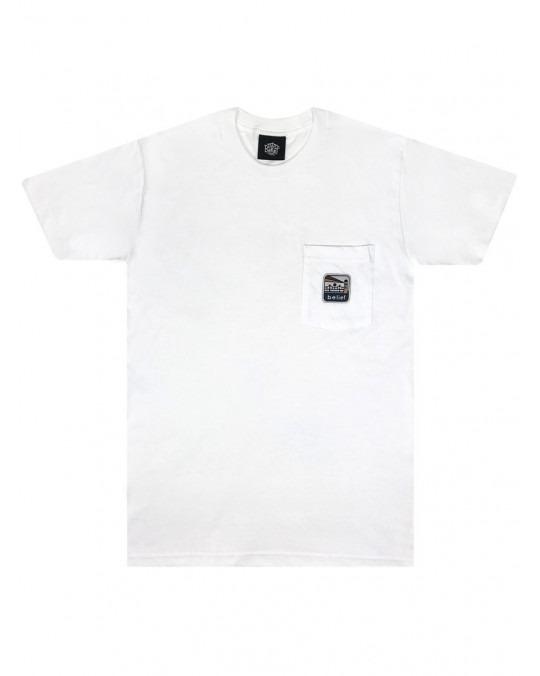 Belief Atlantic Pocket T-Shirt - White