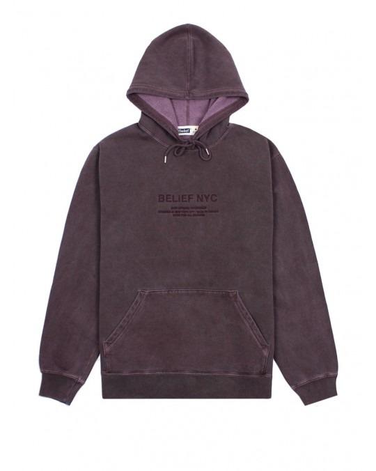 Belief Bayside Premium Pullover Hoody - Vinyard