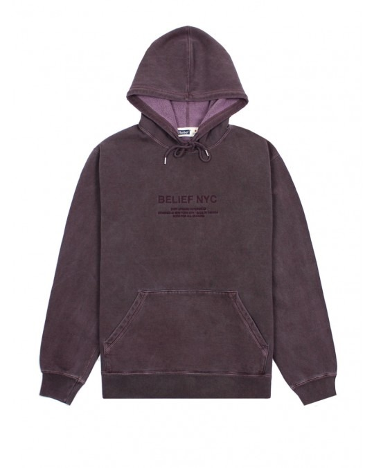 Belief Bayside Premium MiC Pullover Hoody - Vinyard