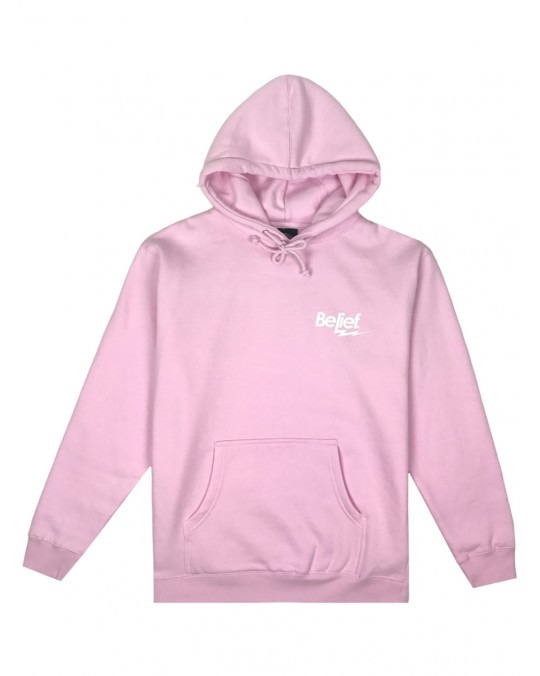Belief Bolt Pullover Hoody - Pink