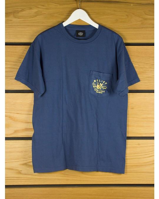 Belief Magic Pocket T-Shirt - Midnight