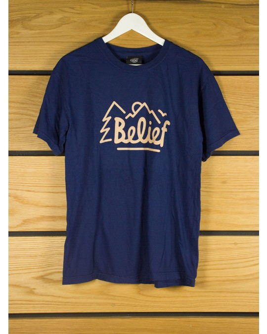 Belief Outsiders T-Shirt - Navy