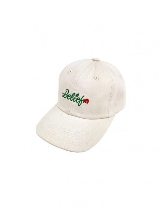 Belief Rose Cap - Natural