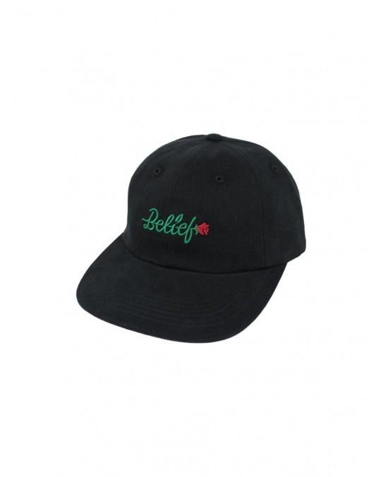 Belief Rose Cap - Black