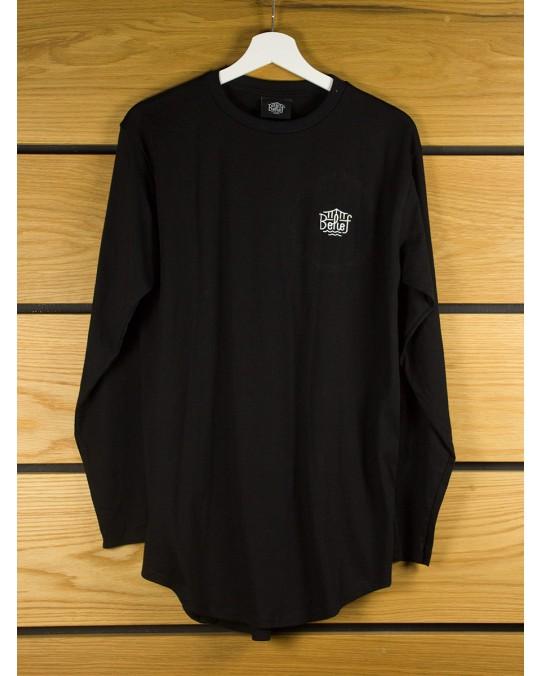 Belief Triboro L/S Scoop T-Shirt - Black
