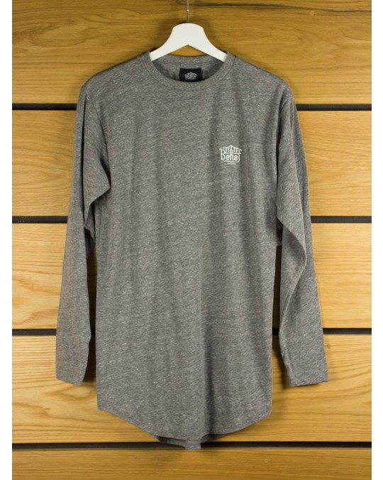 Belief Triboro L/S Scoop T-Shirt - Tri Heather