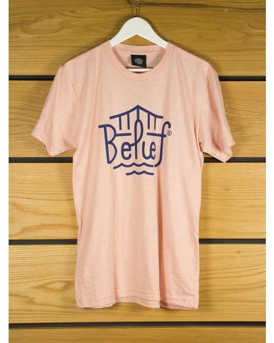 Belief Triboro T-Shirt - Tri-Apricot
