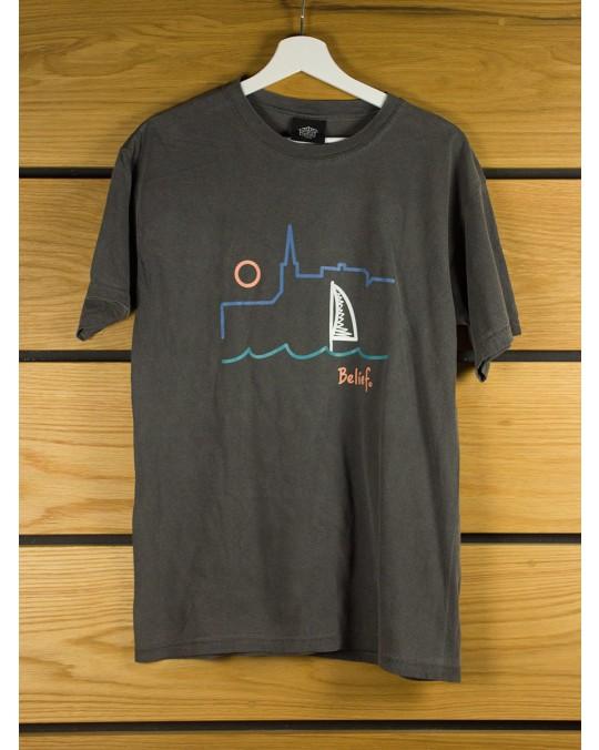 Belief Yacht T-Shirt - Pepper