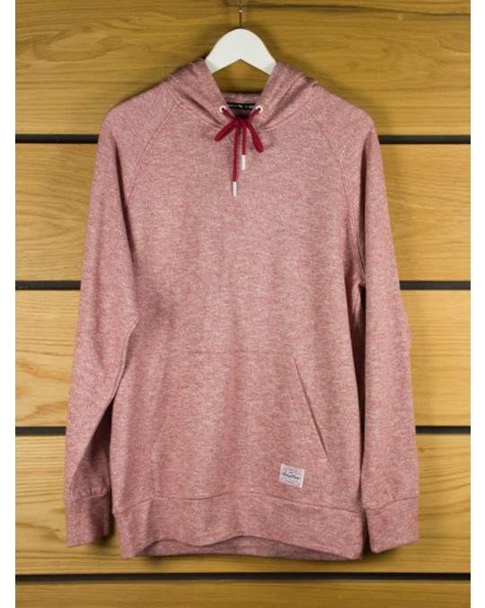 Benny Gold Script Marled Pullover Hoody - Red
