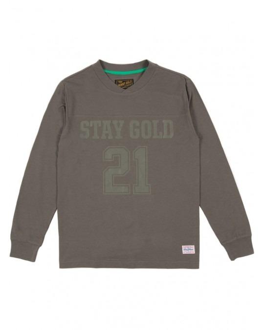 Benny Gold Premium Field Goal L/S T-Shirt - Charcoal