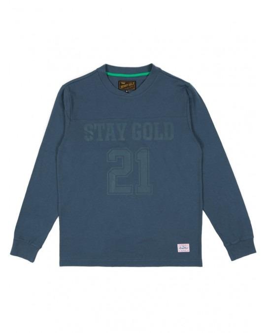 Benny Gold Premium Field Goal L/S T-Shirt - Navy