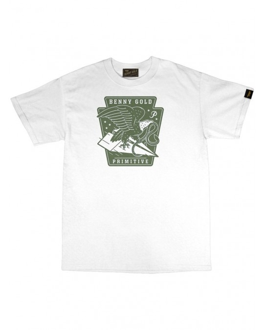 Benny Gold x Primitive Eagle T-Shirt - White