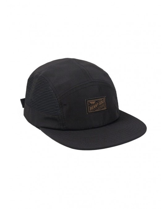 Benny Gold Side Mesh 5 Panel - Black