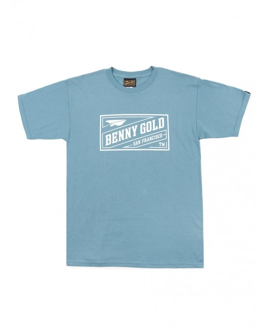 Benny Gold Classic Stamp T-Shirt - Slate