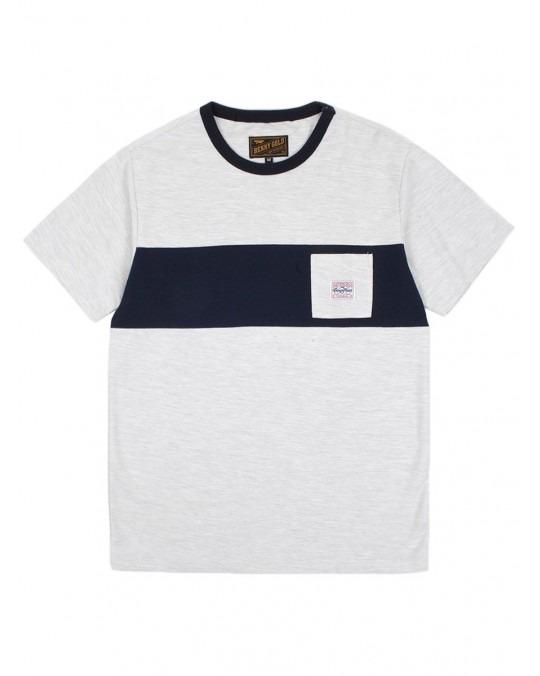 Benny Gold Terry Premium Pocket T-Shirt - Grey