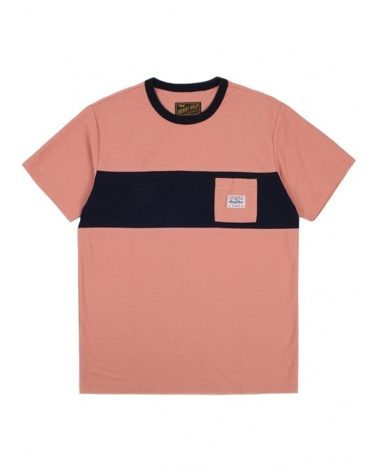 Benny Gold Terry Premium Pocket T-Shirt - Rose