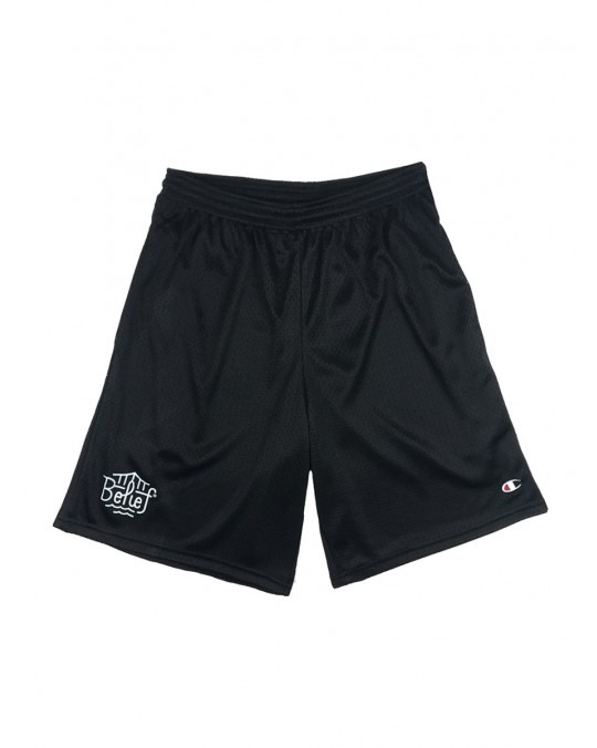 Belief Triboro Champion Mesh Shorts - Black