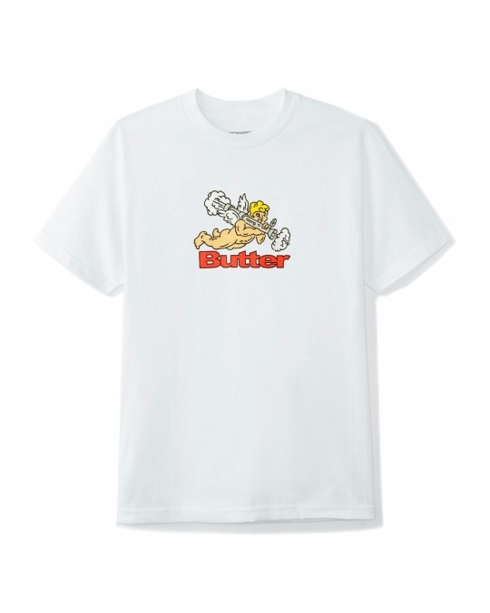 Butter Goods Bazooka T-Shirt - White