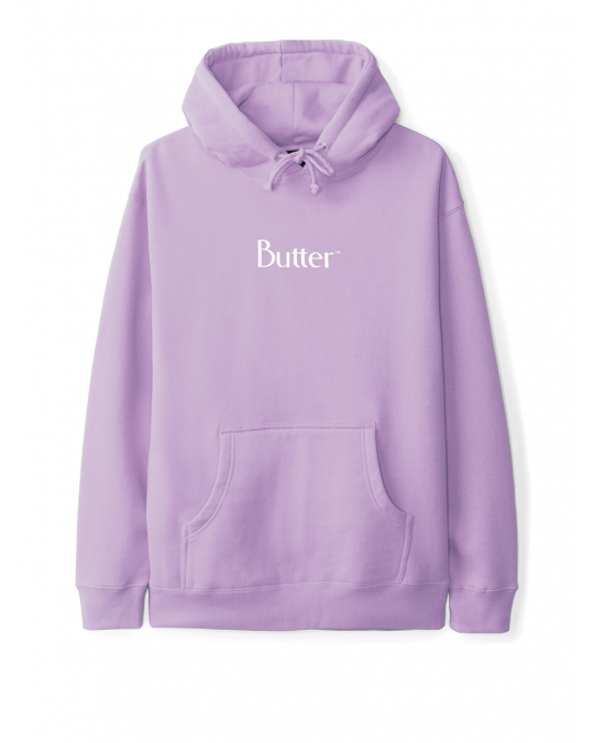 Butter Goods Classic Logo Pullover Hoody - Lavender