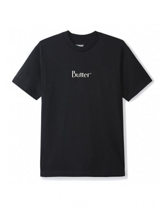 Butter Goods Classic Logo T-Shirt - Black