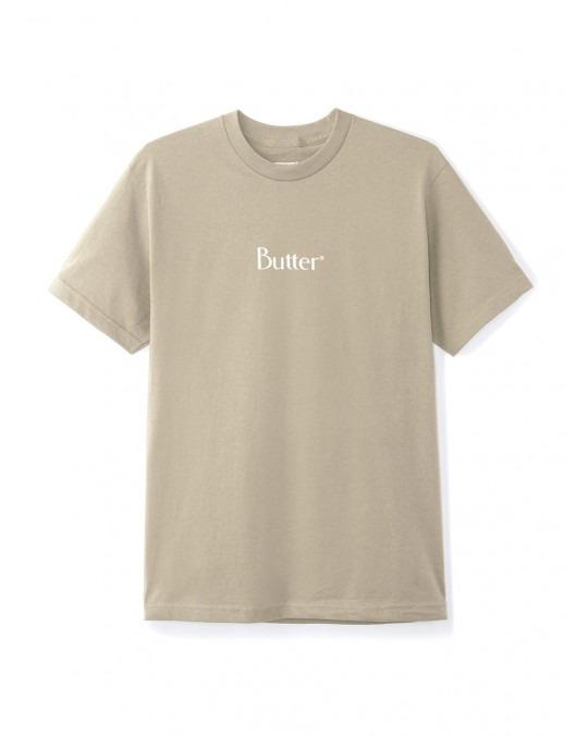 Butter Goods Classic Logo T-Shirt - Sand