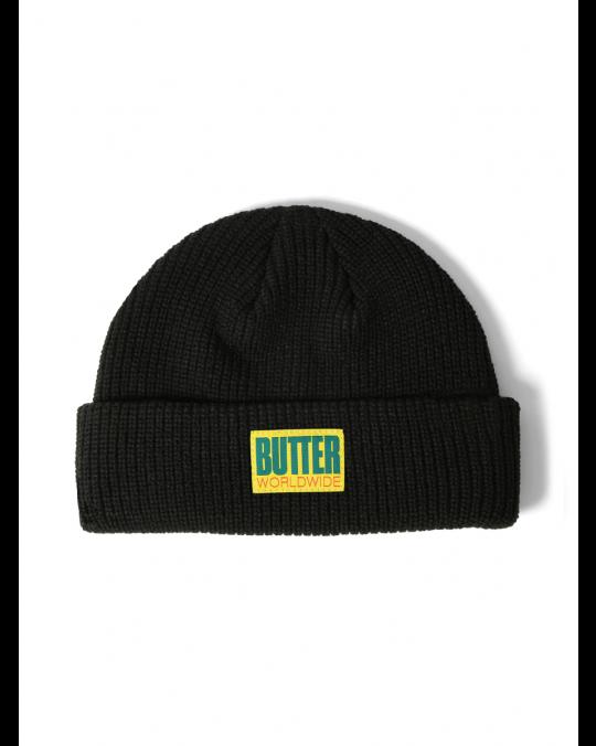 Butter Goods Hike Wharfie Beanie - Black