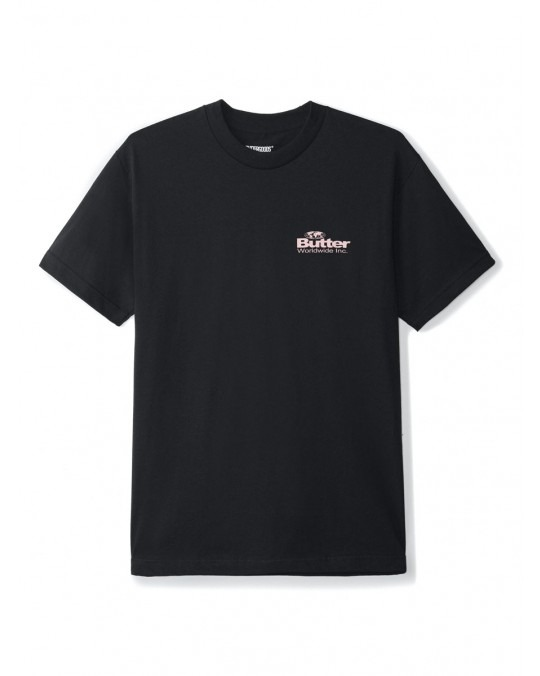 Butter Goods Incorporated Logo T-Shirt - Black