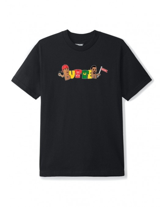 Butter Goods Rap T-Shirt - Black