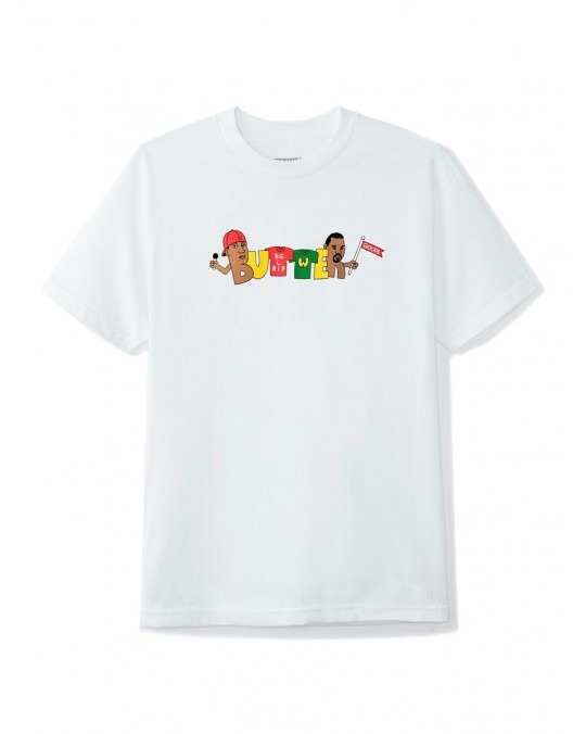 Butter Goods Rap T-Shirt - White