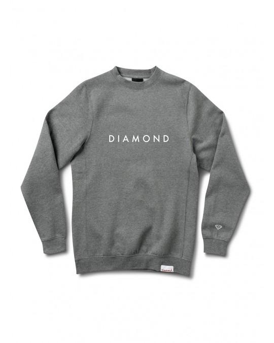 Diamond Supply Futura Crewneck - Charcoal Heather